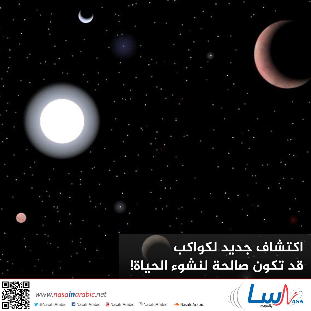 اكتشاف جديد لكواكب قد تكون صالحة لنشوء الحياة!