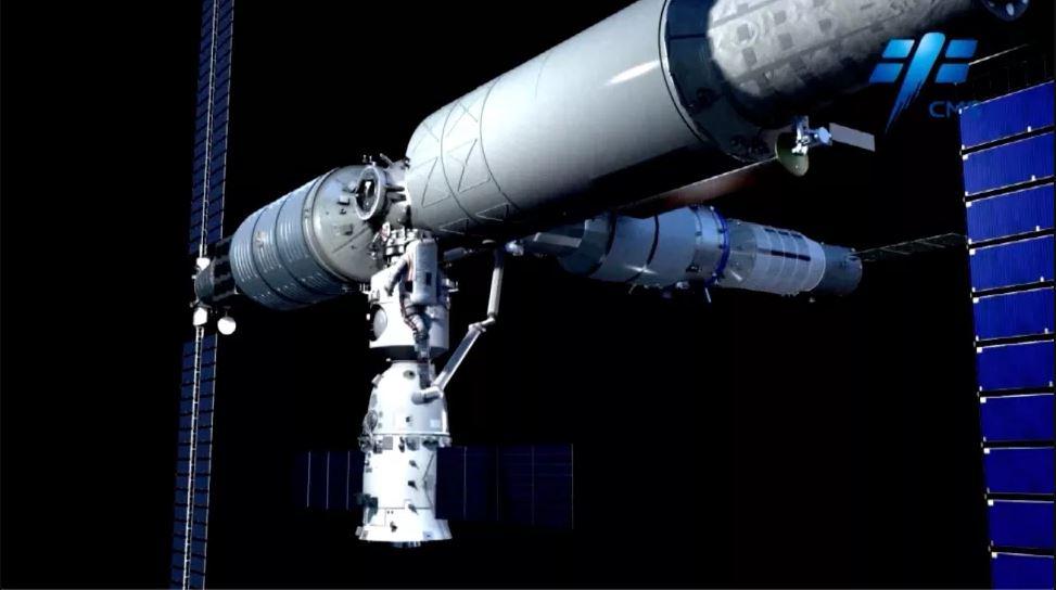 الصين تخطط لإطلاق النموذج الأساسي لمحطة الفضاء هذه السنة
