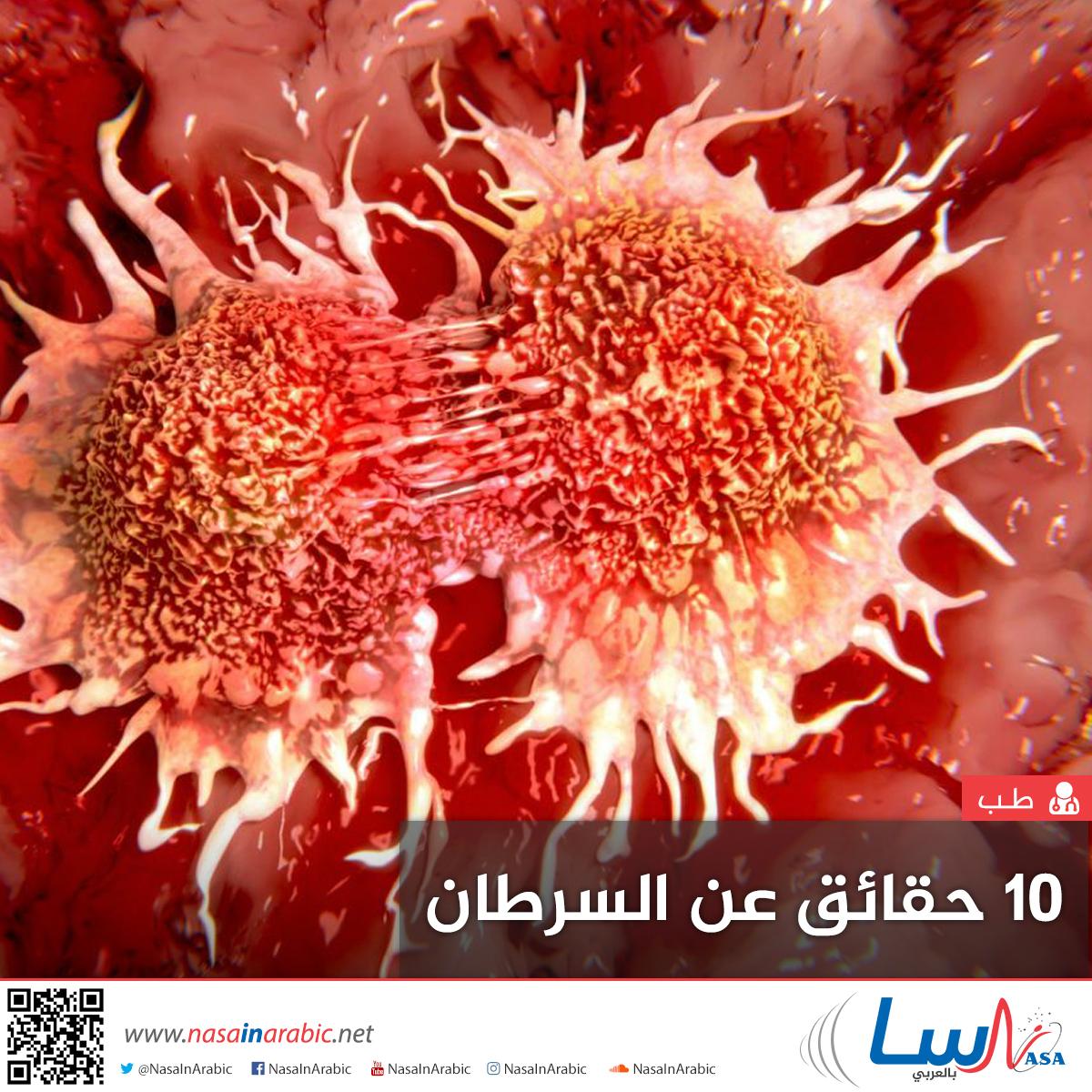 10 حقائق عن السرطان
