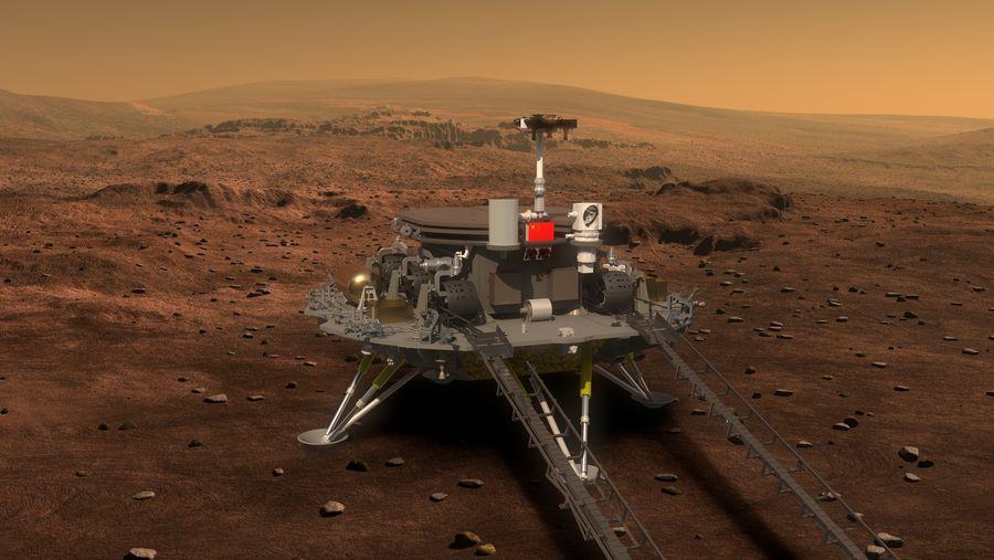 الصين تستعد لإطلاق مركبة تيانوين 1 الجوالة إلى المريخ في نهاية شهر تموز/يوليو