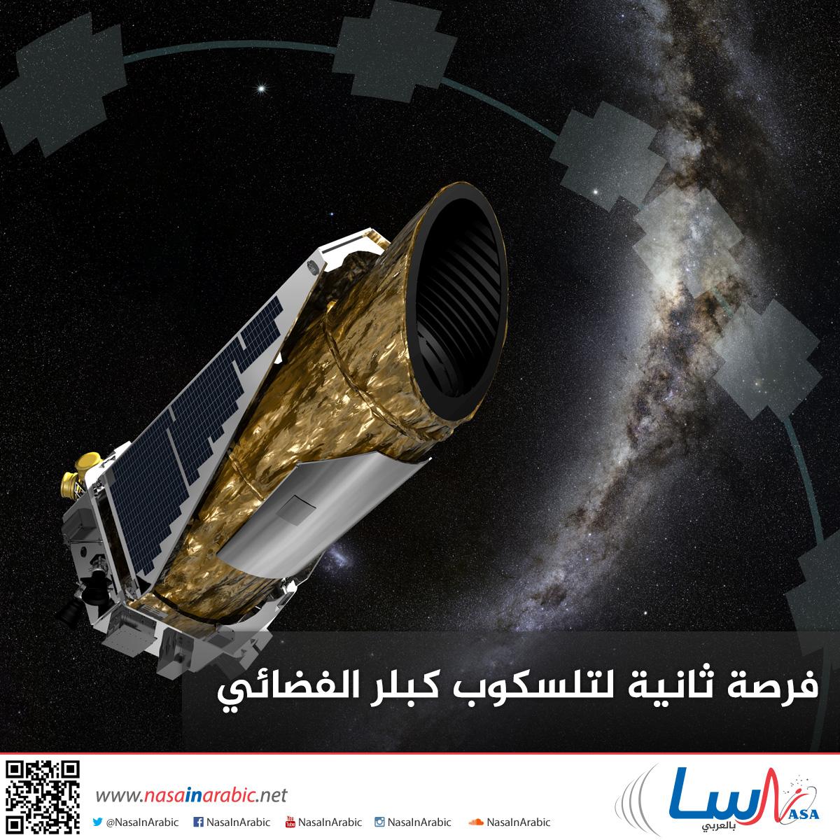 فرصة ثانية لتلسكوب كبلر الفضائي