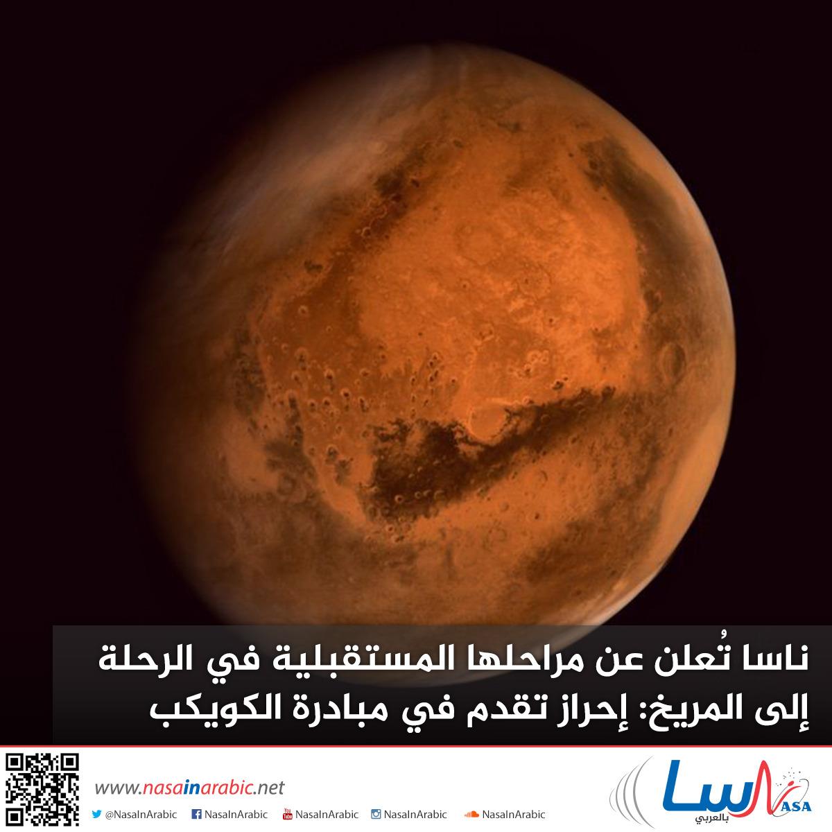 ناسا تُعلن عن مراحلها المستقبلية في الرحلة إلى المريخ: إحراز تقدم في مبادرة الكويكب