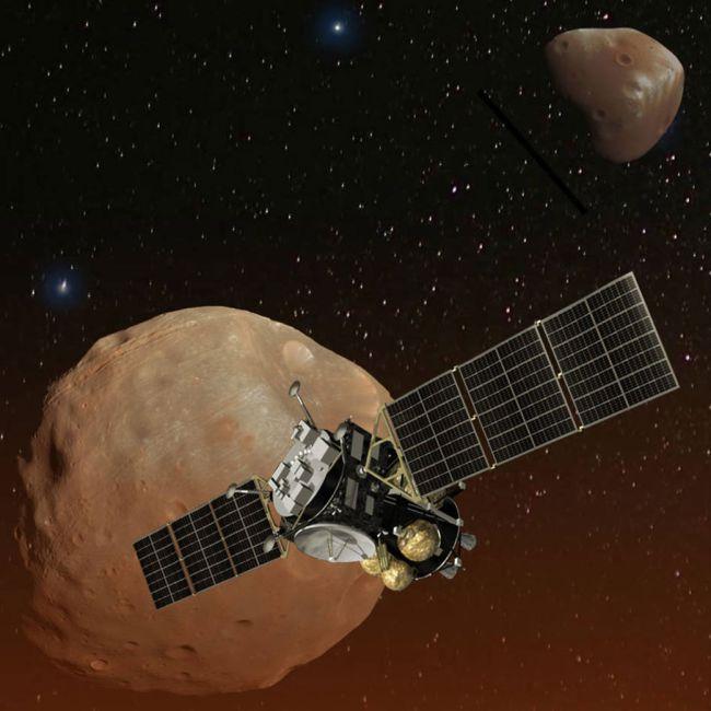 اليابان تخطط لإطلاق مهمة لجمع عينات من قمر المريخ