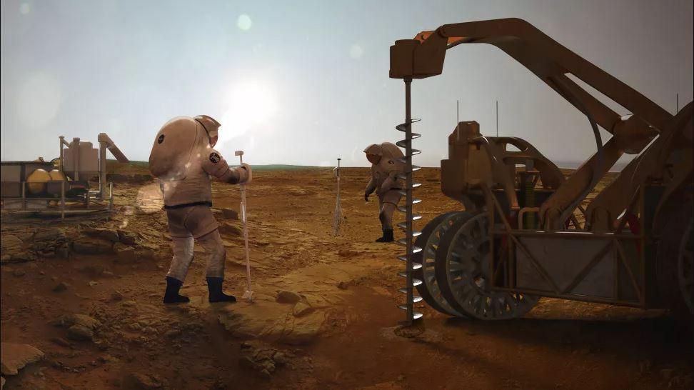 مستعمرو المريخ يتمكنون من الحصول على الوقود والأكسجين من الماء على الكوكب الأحمر