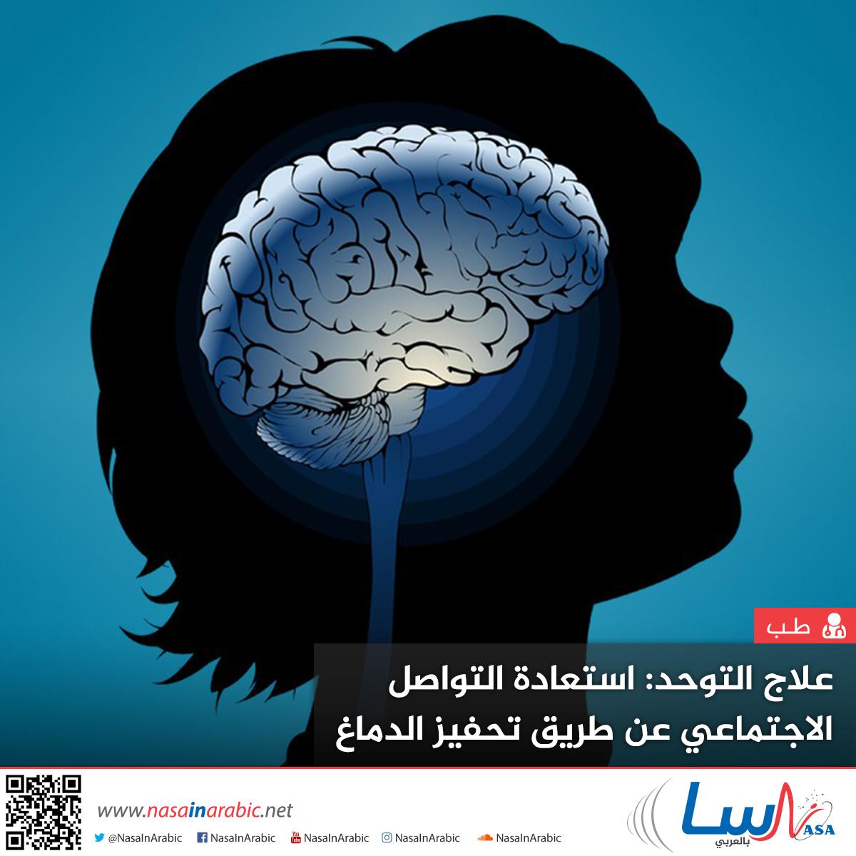 علاج التوحد: استعادة التواصل الاجتماعي عن طريق تحفيز الدماغ