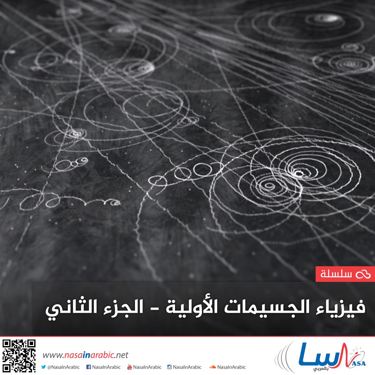 فيزياء الجسيمات الأولية: الجزء الثاني