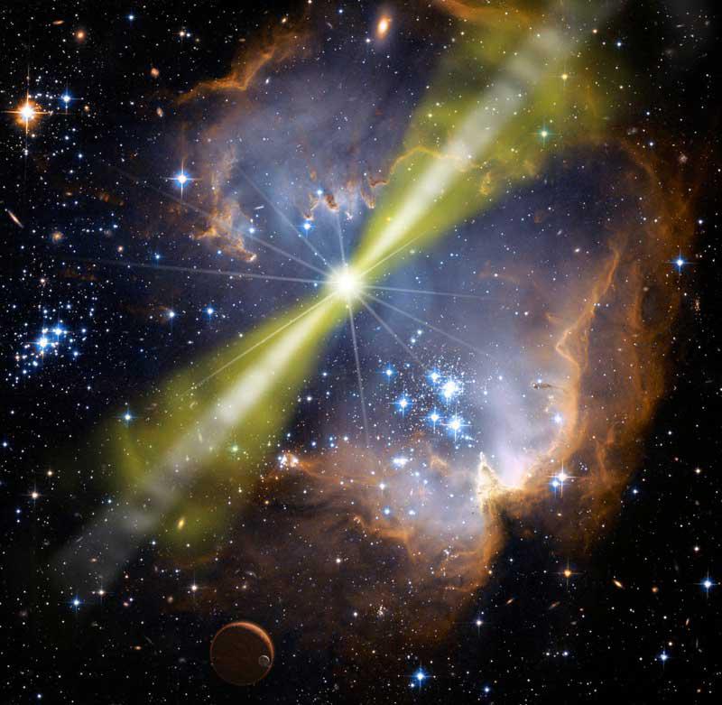 انفجارات أشعة جاما