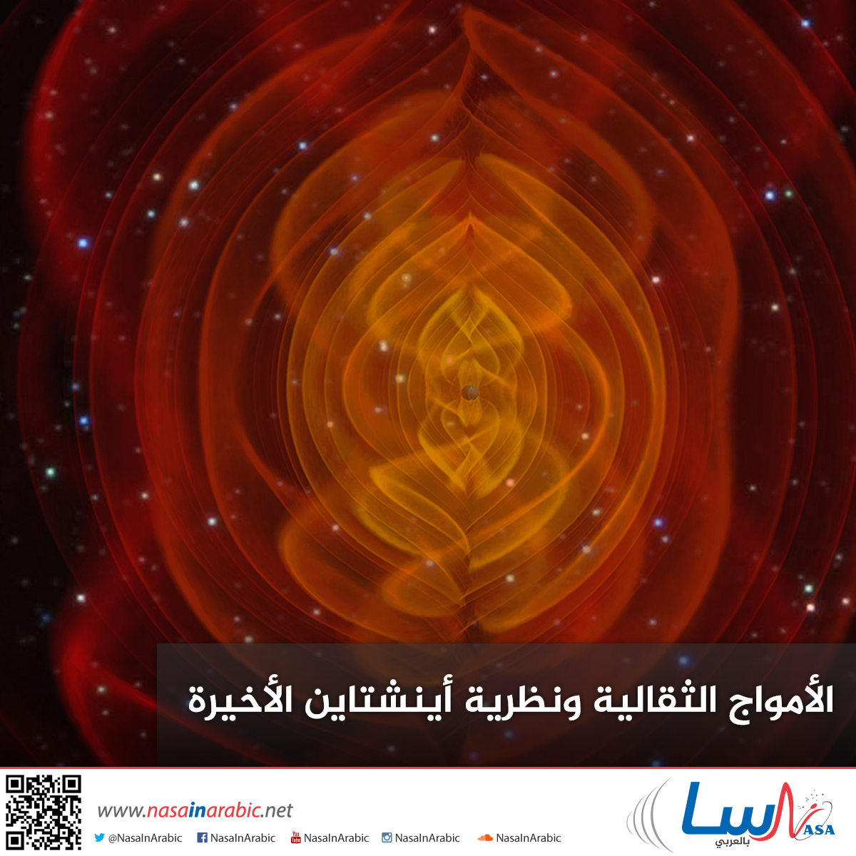 الامواج الثقالية ونظرية اينشتاين الاخيرة