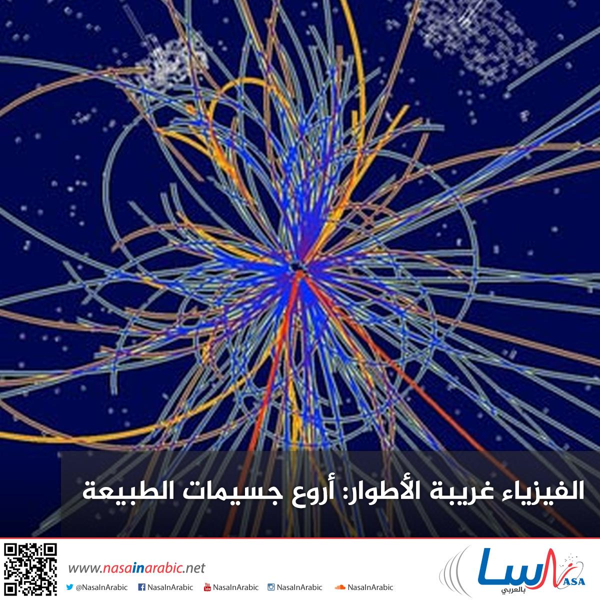 الفيزياء غريبة الأطوار: أروع جسيمات الطبيعة
