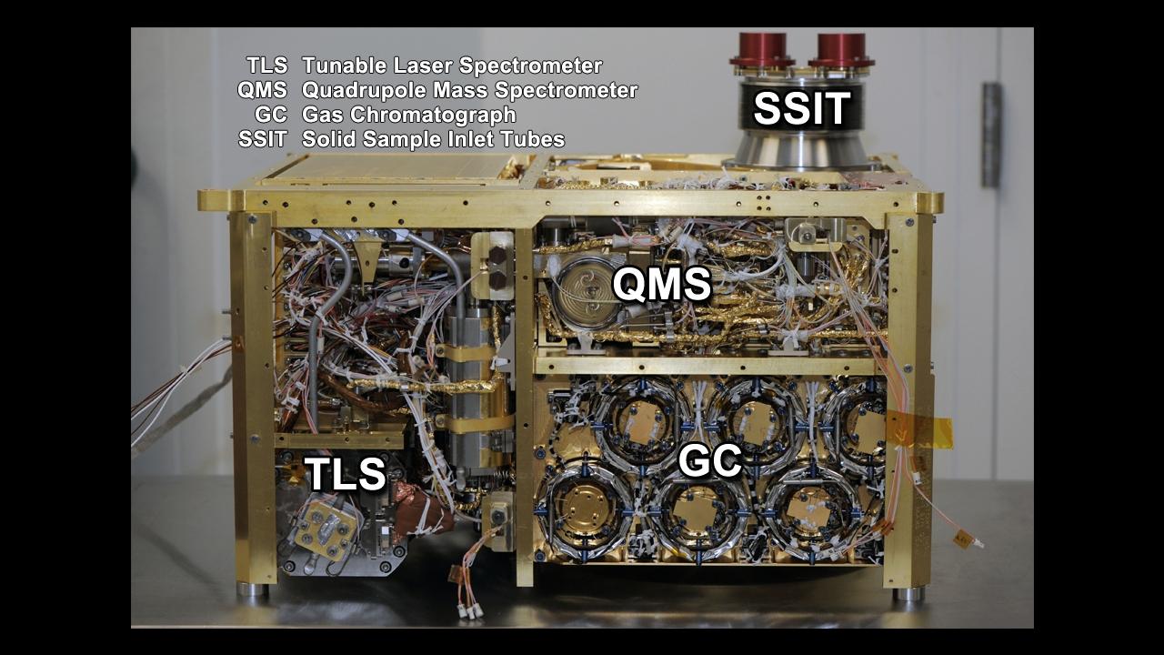 """أداة غودارد """"SAM"""" تقوم بأول رصد لمواد عضوية على المريخ"""