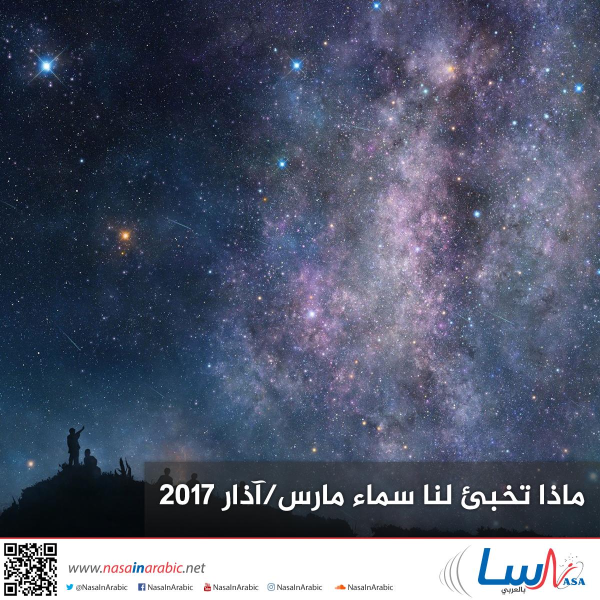ماذا تخبئ لنا سماء مارس/آذار 2017
