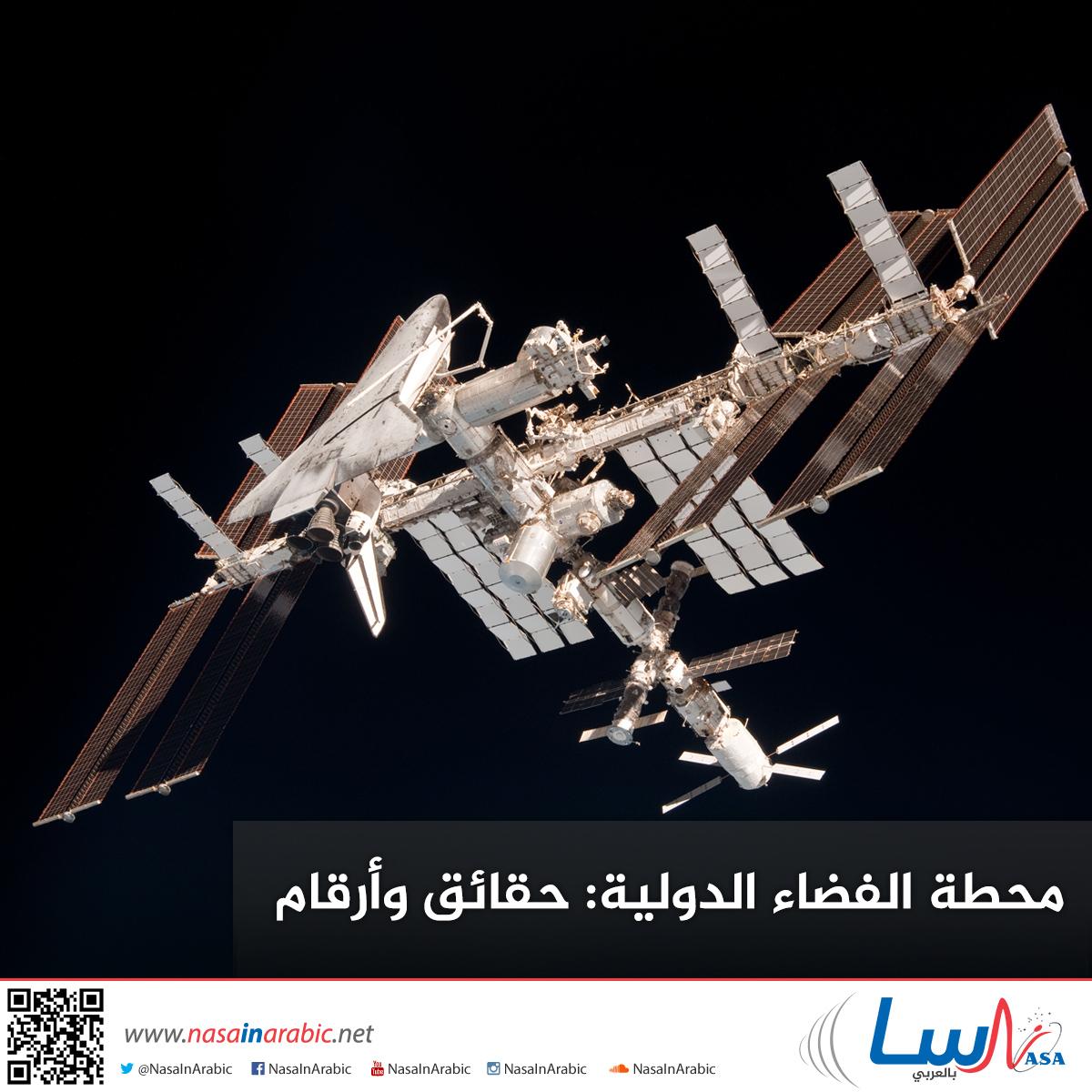 محطة الفضاء الدولية: حقائق وأرقام
