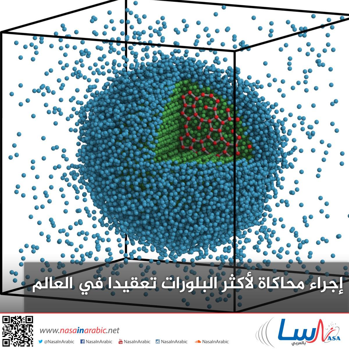 إجراء محاكاة لأكثر البلورات تعقيدا في العالم