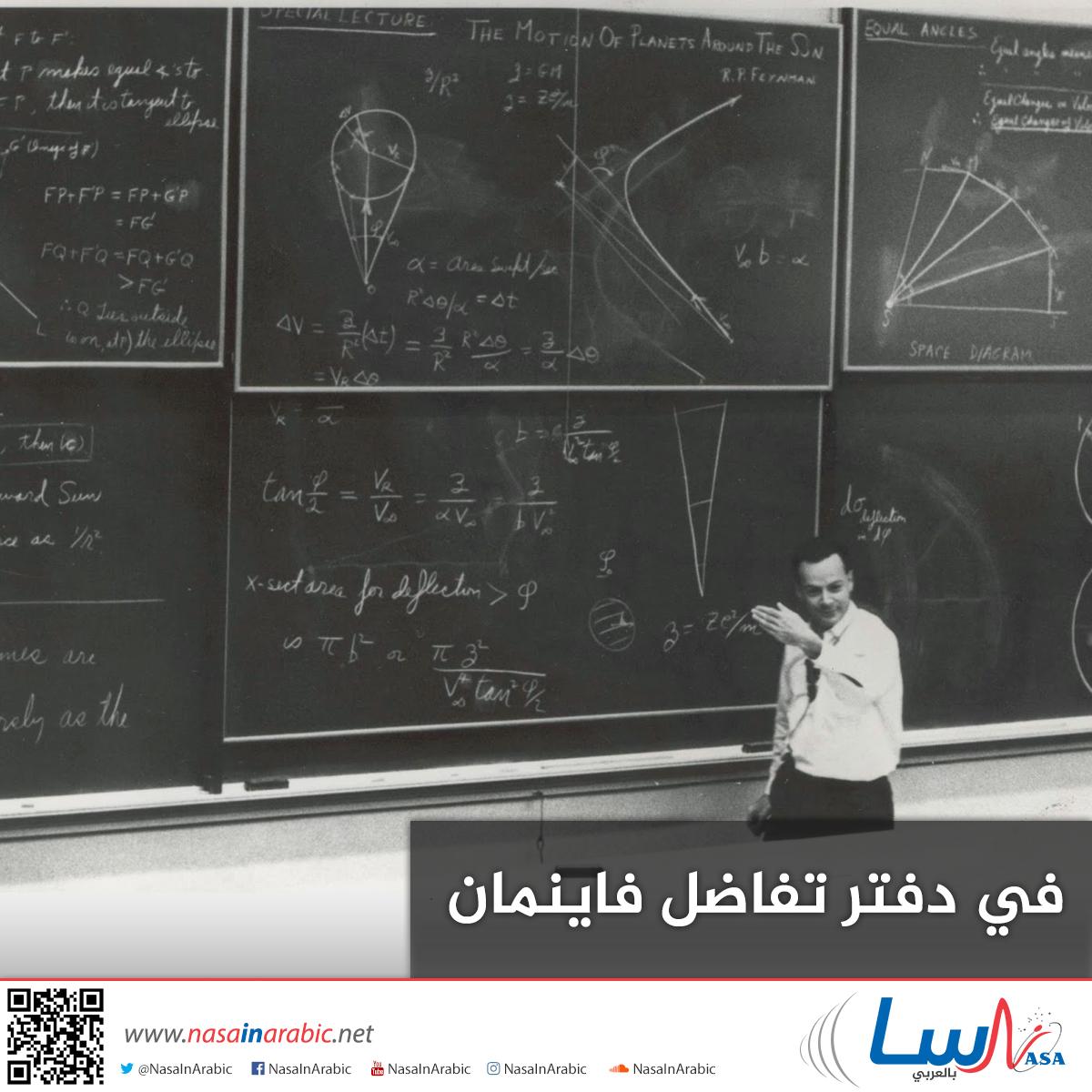 في دفتر تفاضل فاينمان