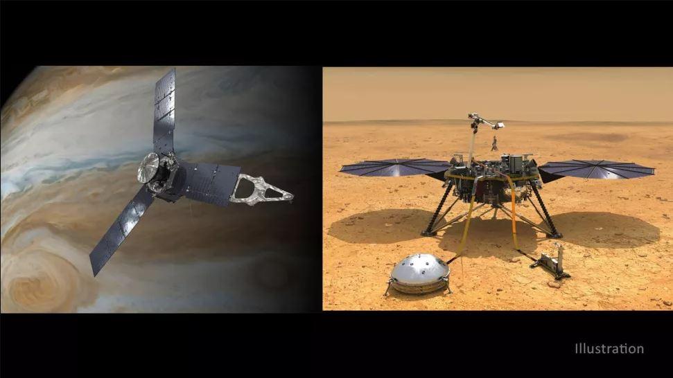 ناسا توسع مهمات استكشاف كوكبي المريخ والمشتري