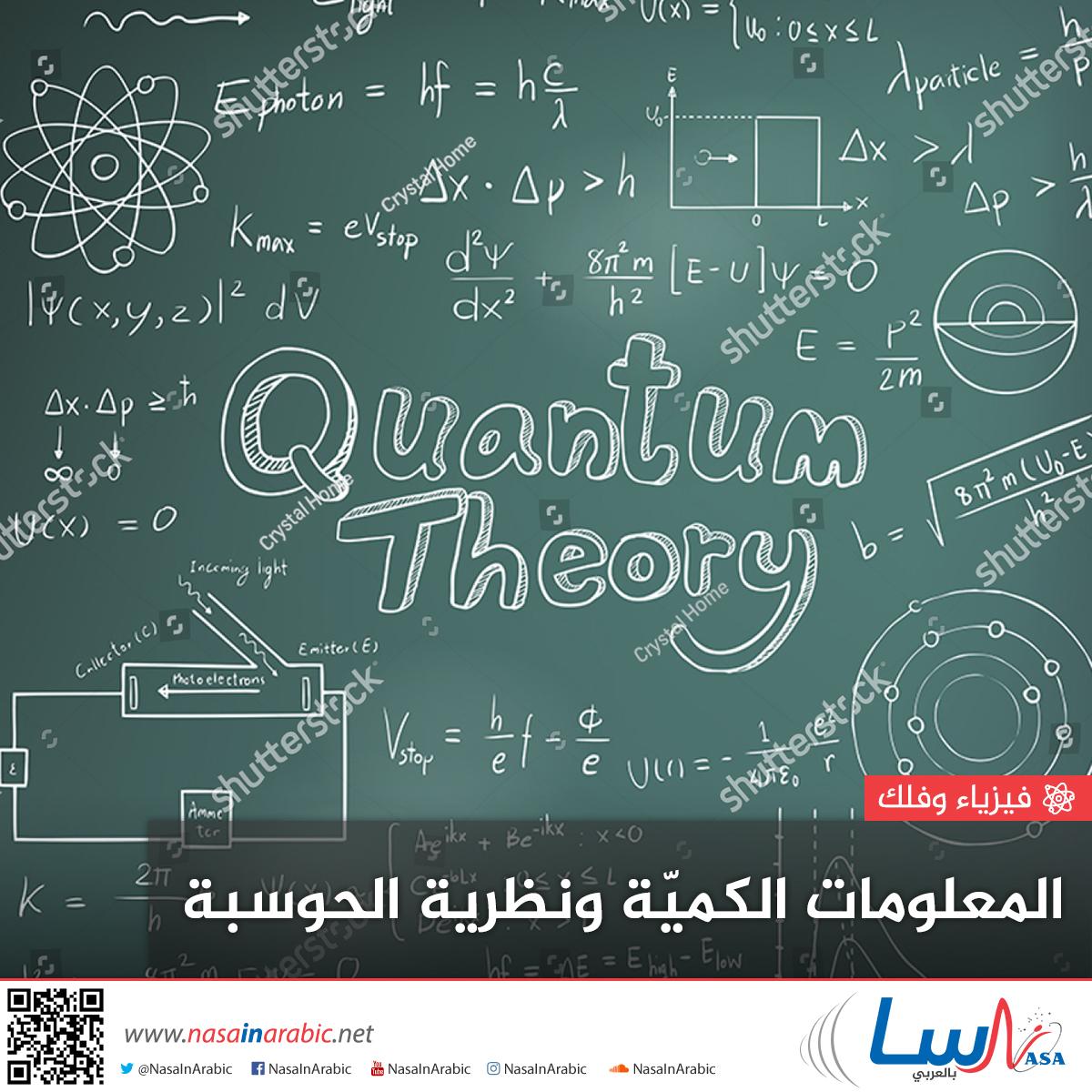 المعلومات الكمية ونظرية الحوسبة