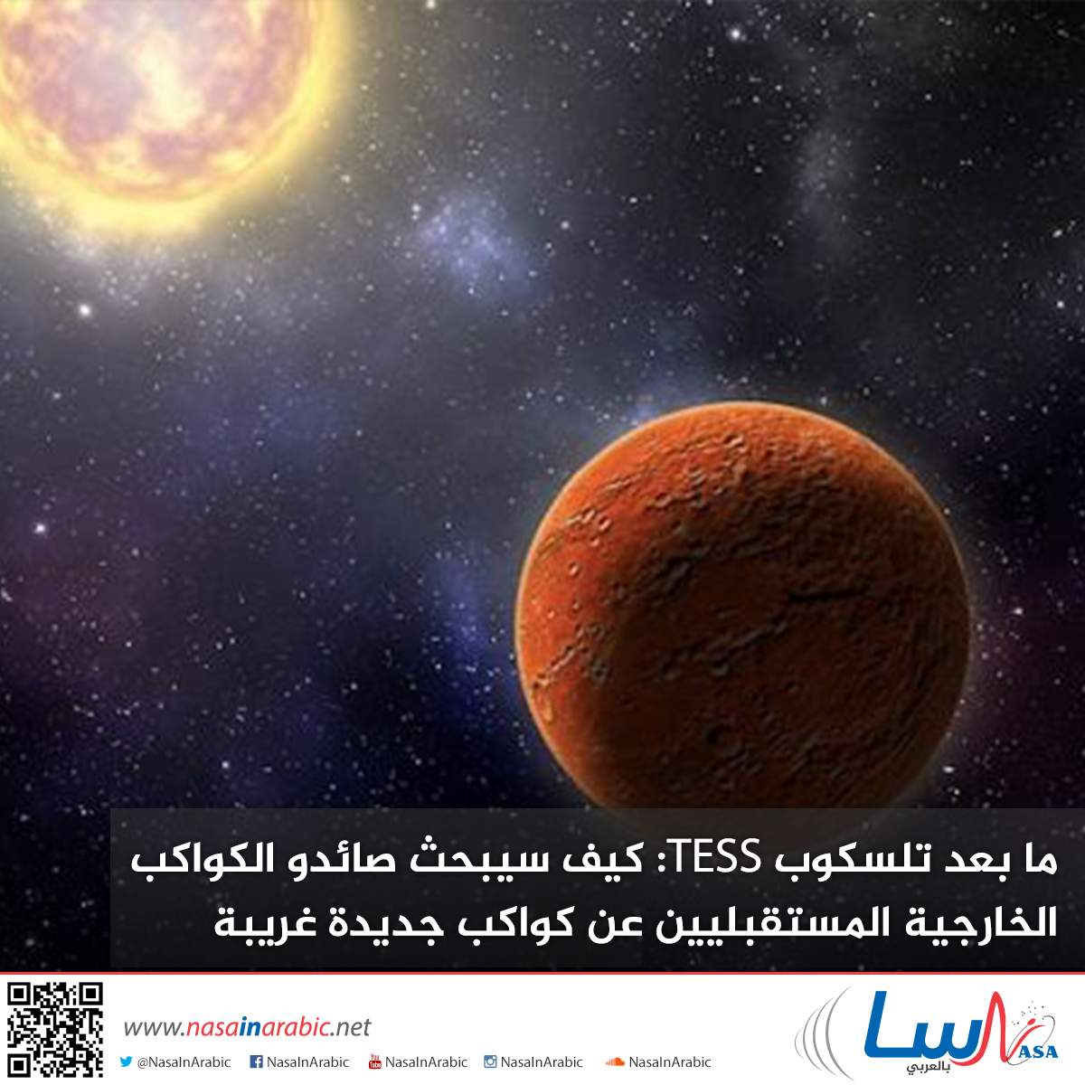 ما بعد تلسكوب TESS: كيف سيبحث صائدو الكواكب الخارجية المستقبليين عن كواكب جديدة غريبة