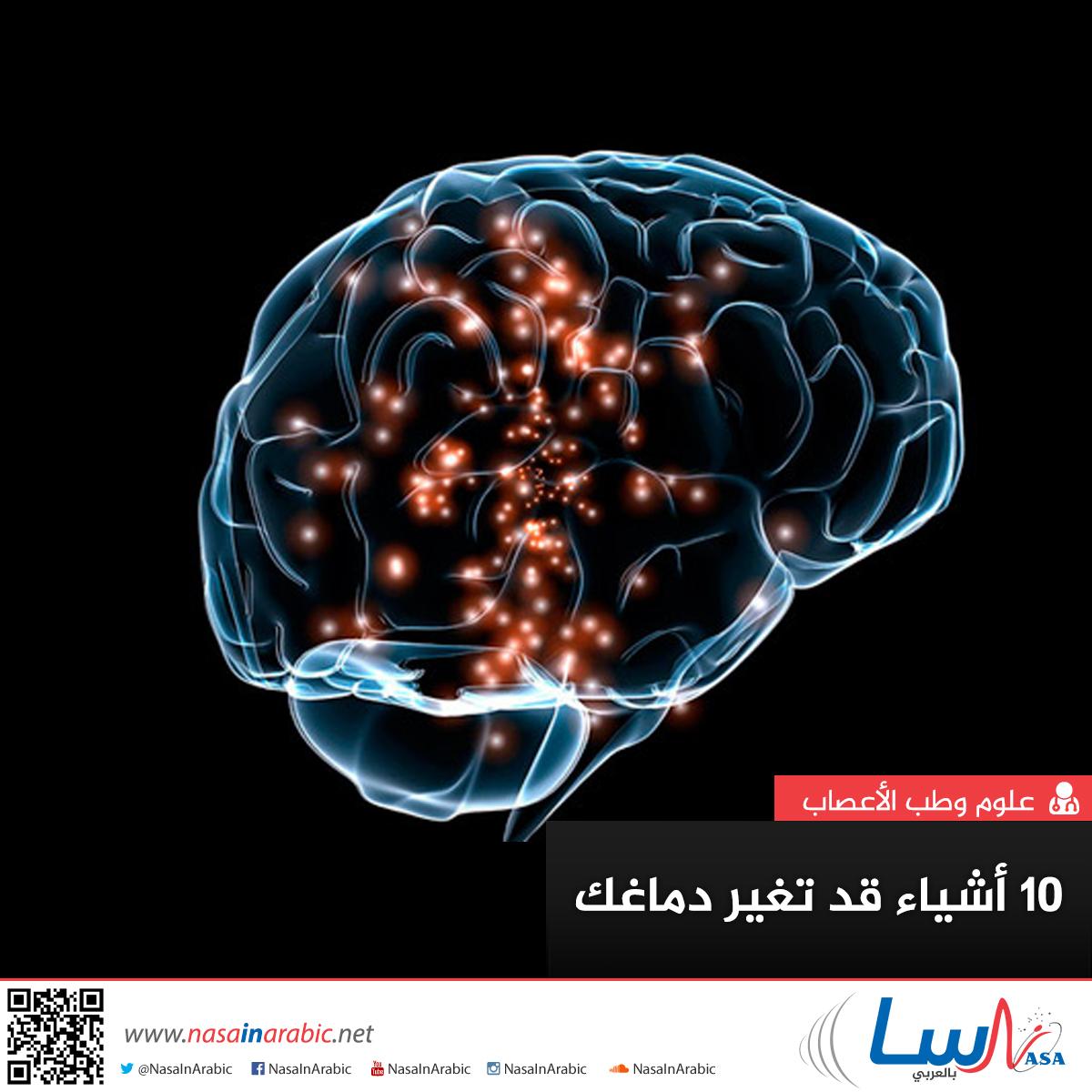 10 أشياء قد تغير دماغك