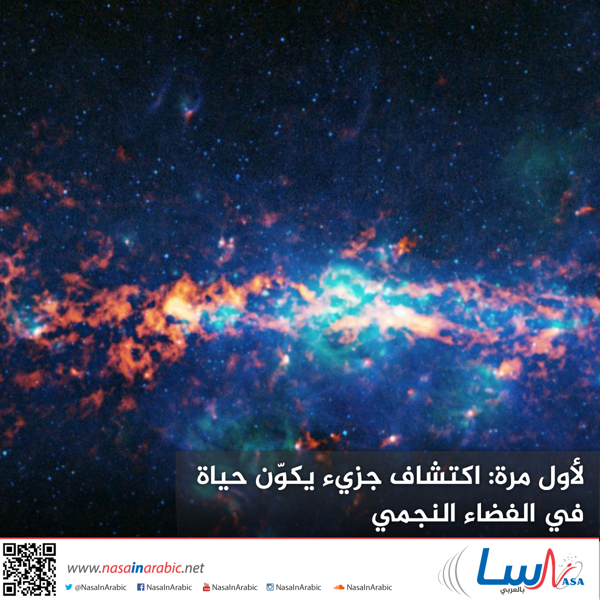 لأول مرة: اكتشاف جزيء يكوّن حياة في الفضاء النجمي