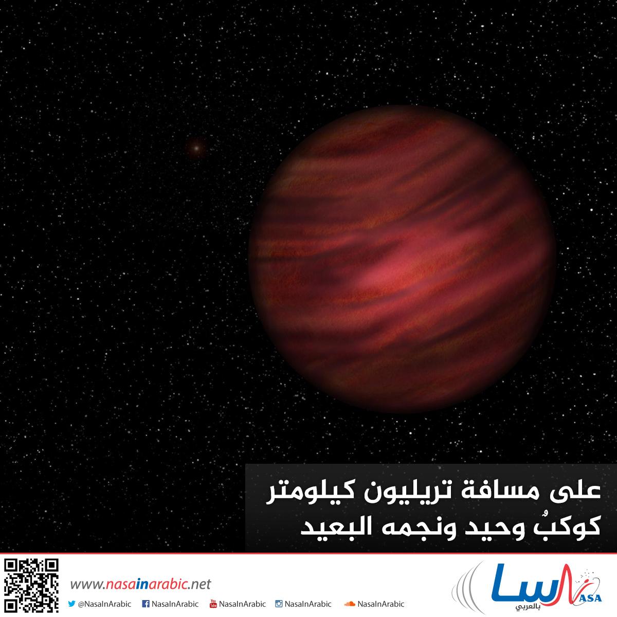 على مسافة تريليون كيلومتر— كوكبٌ وحيد ونجمه البعيد