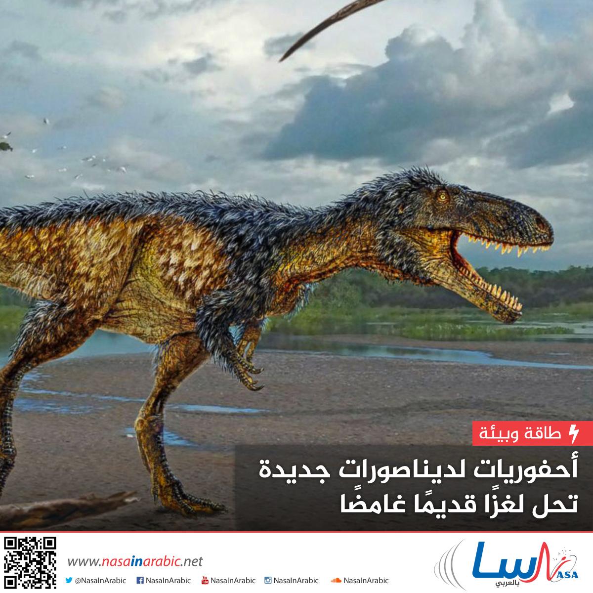 أحفوريات لديناصورات جديدة تحل لغزًا قديمًا غامضًا