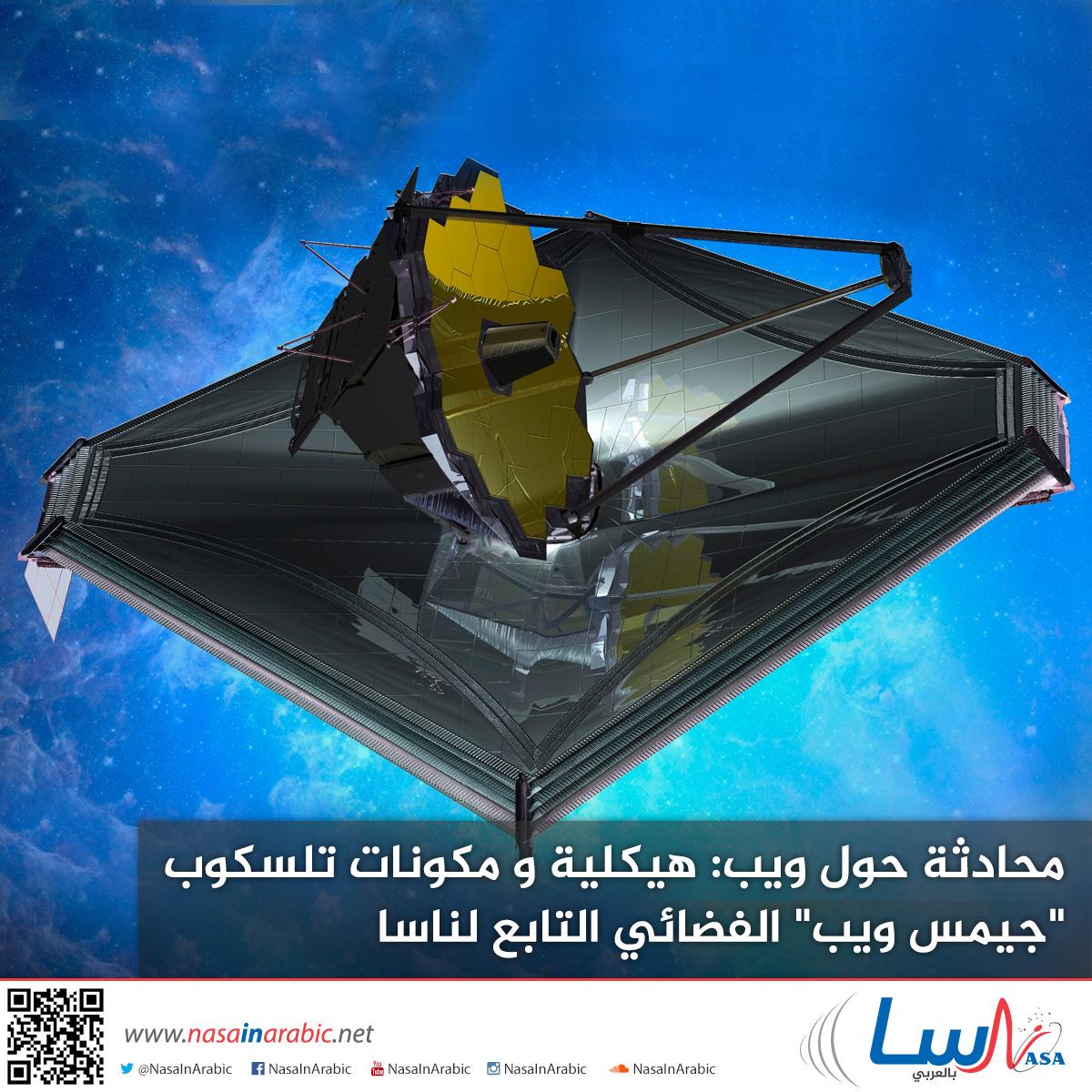 محادثة حول ويب: هيكلية و مكونات تلسكوب