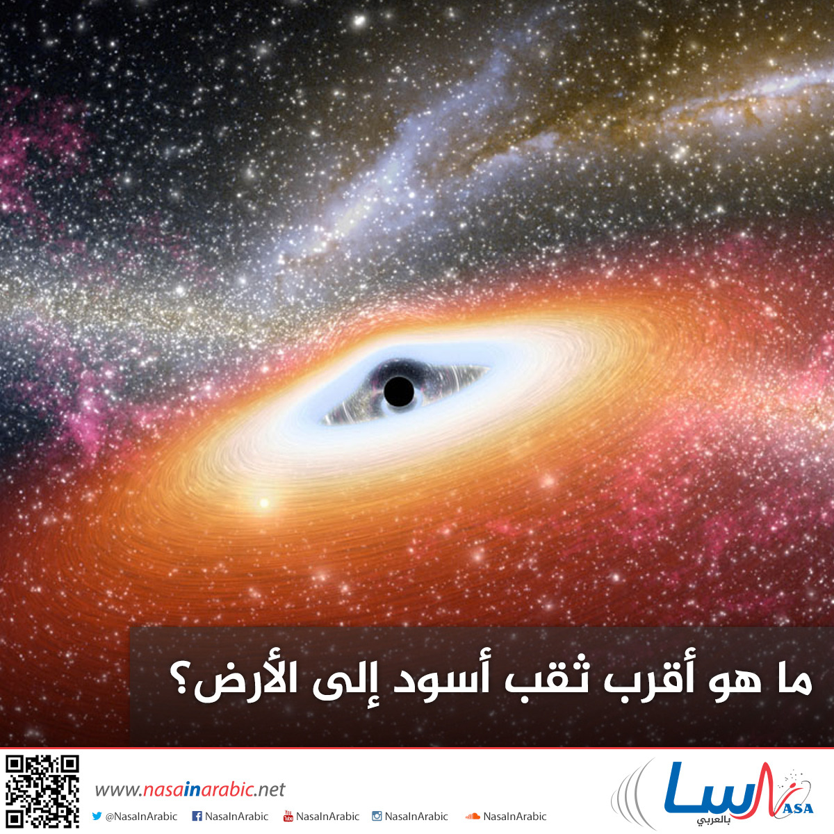 ما هو أقرب ثقب أسود إلى الأرض؟