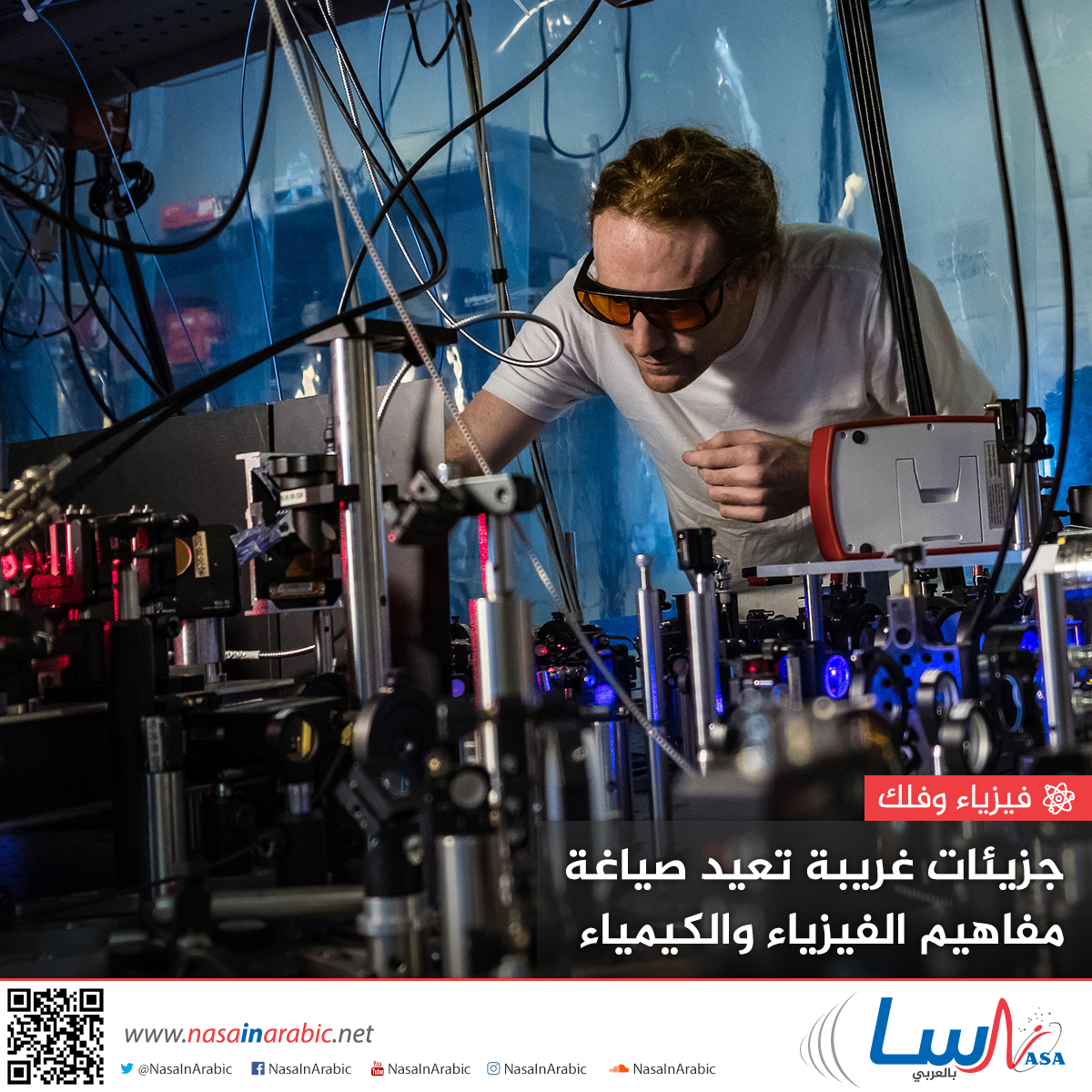جزيئات غريبة تعيد صياغة مفاهيم الفيزياء والكيمياء