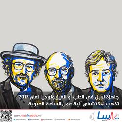 جائزة نوبل في الفيزيولوجيا أو الطب لعام 2017