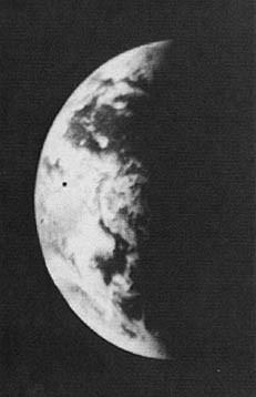 فسيفساء للأرض التقطتها مارينر 10 بعد الإطلاق.  المصدر: ناسا