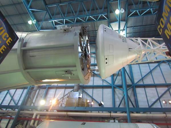 وحدة القيادة في صاروخ ساترن الخامس