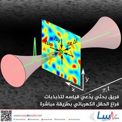 فريق بحثي يدَّعي قياسه لتذبذبات فراغ الحقل الكهربائي بطريقة مباشرة