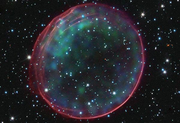 المستعر الأعظم (سوبرنوفا) المصدر: NASA/CXC/ASU/J. Hester et al