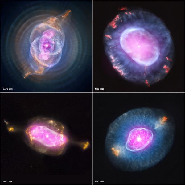 بصريا: NASA/STScI الأشعة السينية: NASA/CXC/RIT/J.Kastner et al