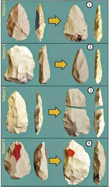أمثلة من الحجارة الموكلة إلى كل متطوع
