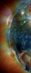 http://sohowww.nascom.nasa.gov/gallery/Movies/sunspots.html اضغط على الصورة لاختيار الفلم. المصدر: مرصد سوهو.