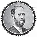 1879، أثارت منافسة أقامتها الأكاديمية البروسية للعلوم اهتمام هاينريش هيرتس بعمل ماكسويل، كانت هذه المنافسة تتطلب الحصول على دليل تجريبي لصالح الموجات الكهرومغناطيسية أو ضدها.  حقوق الصورة Popperfoto/ Getty Images