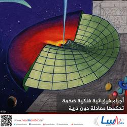أجرام فيزيائية فلكية ضخمة تحكمها معادلة دون ذرية