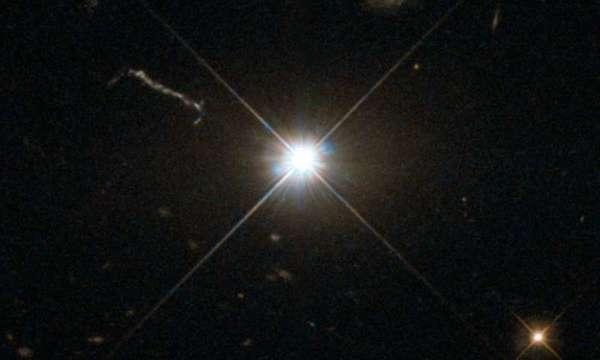 ثقب أسود فائق السطوع. الحقوق: NASA