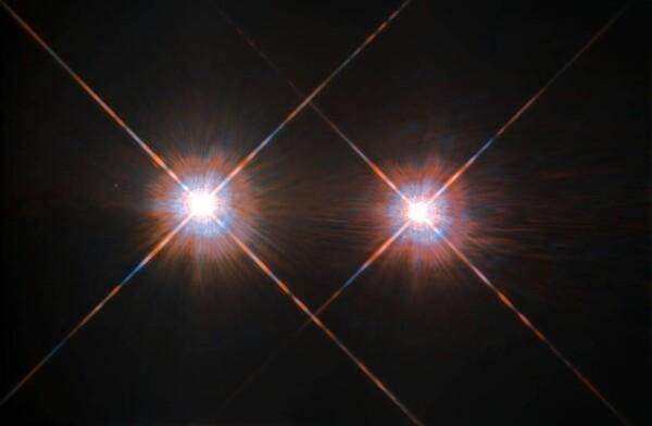 أفضل صورة التقطها هابل لألفا سينتوري .حقوق الصورة: ESA/ NASA