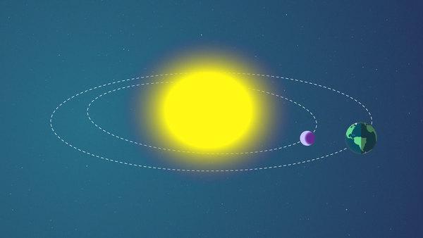 يمر الكوكب أثناء الانتقال بيننا وبين النجم الذي يدور حوله الكوكب. تُستخدم هذه الطريقة بشكل شائع لإيجاد كواكب خارجية في مجرتنا. حقوق الصورة: NASA's Goddard Space Flight Center/Genna Duberstein