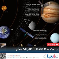 رحلات استكشافنا للنظام الشمسي