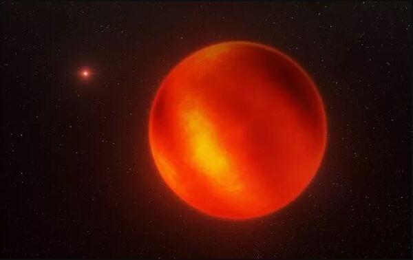صورة فنية للقزم البني لومان 16 بي، صُممت من عمليات الرصد الخاصة بالتلسكوب الكبير جدًا في المرصد الجنوبي الأوروبي. حقوق الصورة: ESO/I. Crossfield/N. Risinger (skysurvey.org)