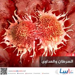 السرطان والعداوى