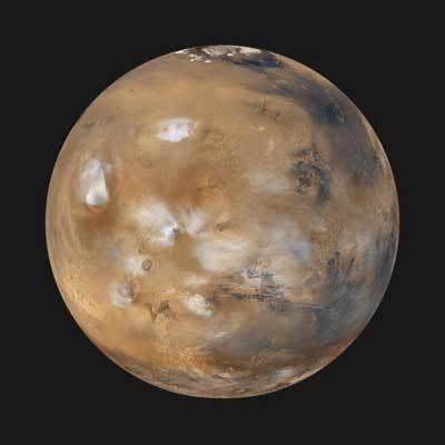 صورة عامة لكوكب المريخ. المصدر: ناسا