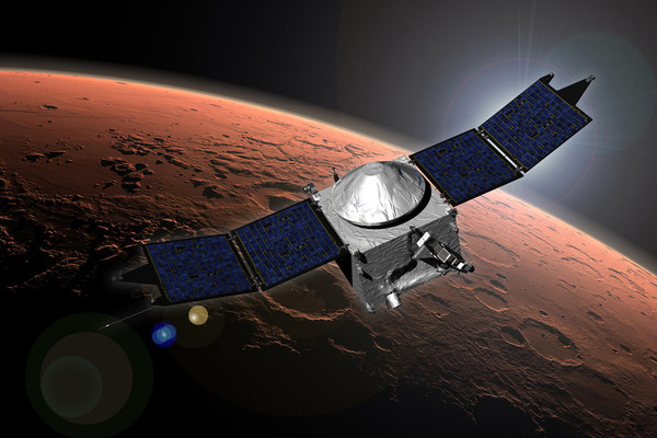 مافين MAVEN The Mars Atmosphere And Volatile Evolution Mission