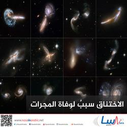 الاختناق سببٌ لوفاة المجرات