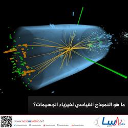 ما هو النموذج القياسي لفيزياء الجسيمات؟