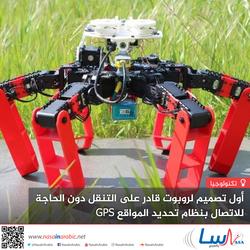 أول تصميم لروبوت قادر على التنقل دون الحاجة للاتصال بنظام تحديد المواقع GPS