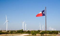 """ربما عليهم أن يطلقوا على تكساس """"ولاية نجمة الرياح""""، لأنها السبّاقة في منشآت إنتاج طاقة الرياح. حقوق الصورة: Hemera/Thinkstock"""